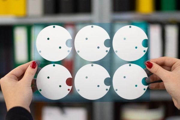 warmtegeleidende sticker verlichting